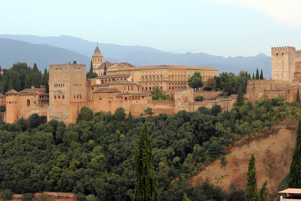 La Alhambra desde el Mirador de San Nicolás.