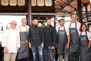 Algunos de los nuevos chefs con propuesta gastronómica en el mecado.