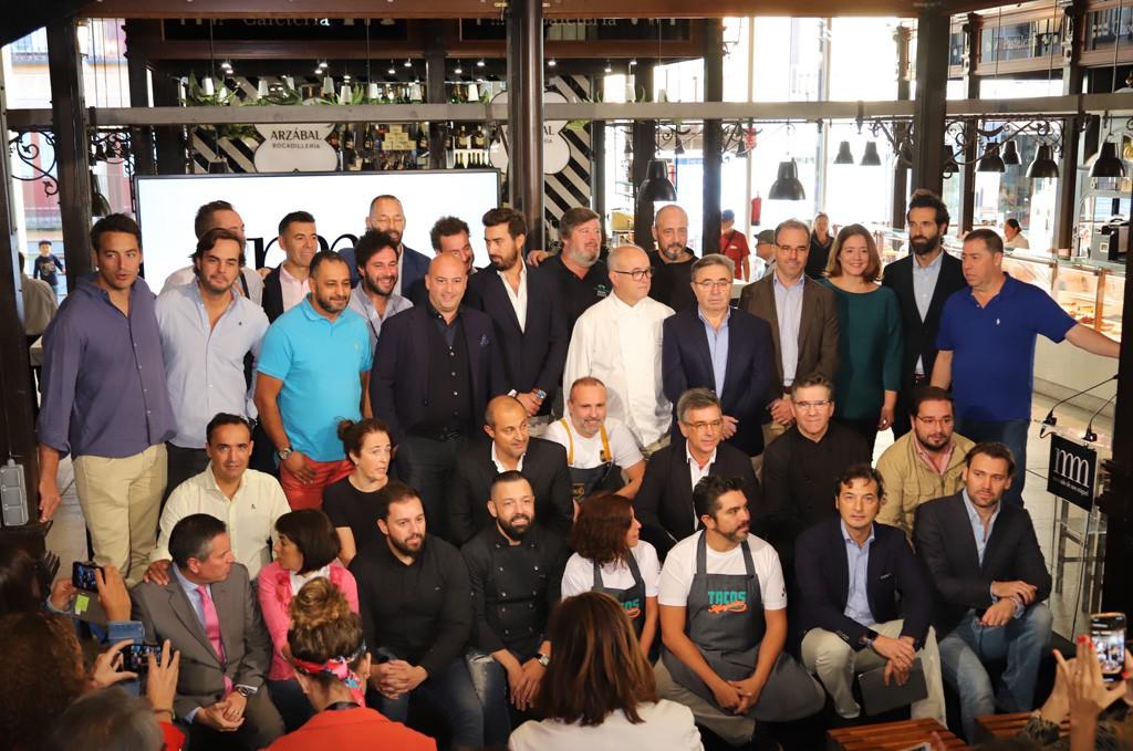 La nueva tripulación del Mercado de San Miguel.