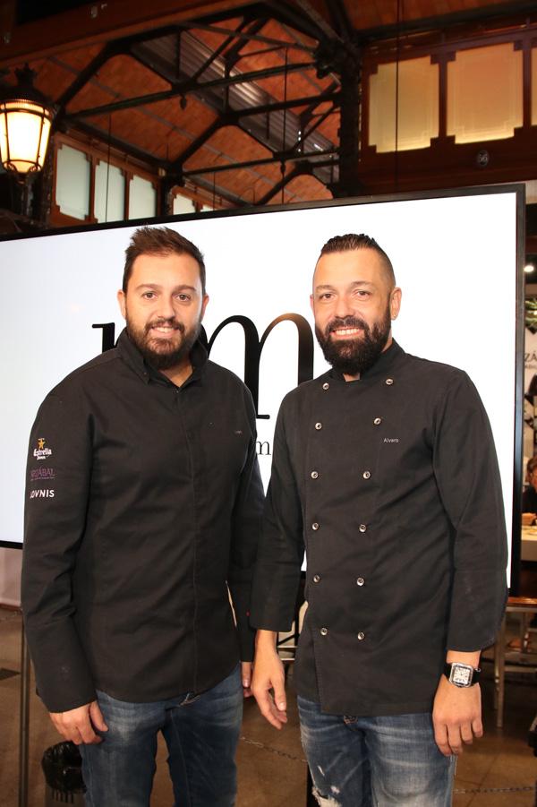 Los chefs Iván Morales y Álvaro Castellanos de Grupo Arzábal.