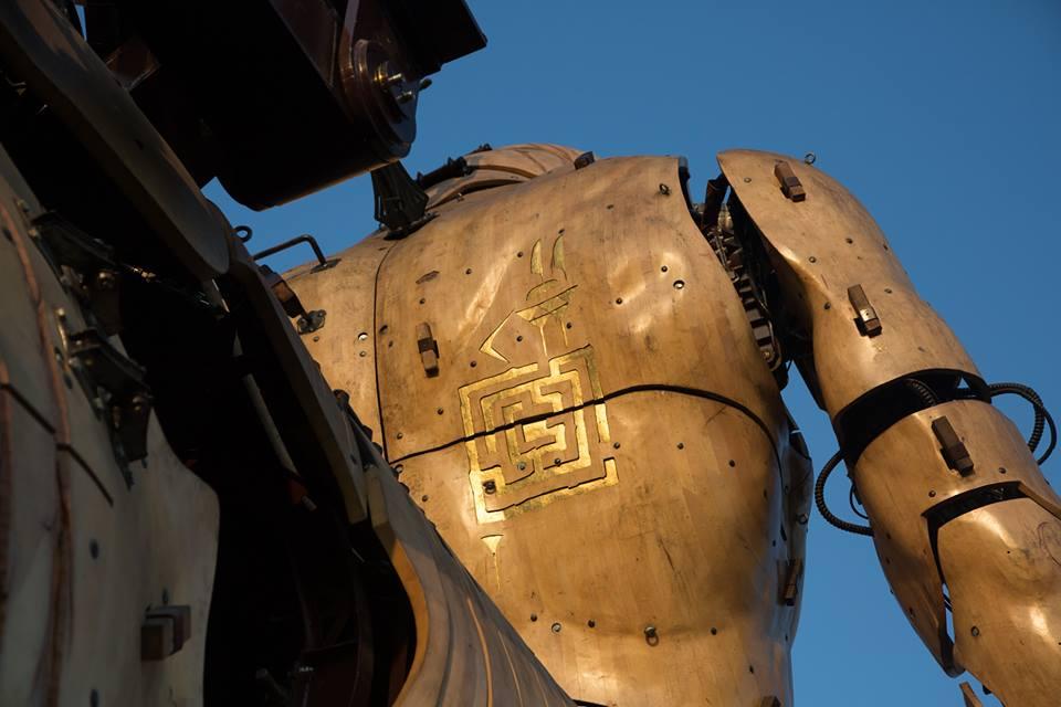 Las enormes máquinas de fantasía que cobran vida han sido creadas por François Delaroziere. Foto: Minotauro de La Machine Company.