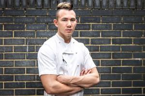 El chef Angelo Sato, fundador de Omoide, Mission Sato y ex jefe de cocina del restaurante con una estrella Michelin.