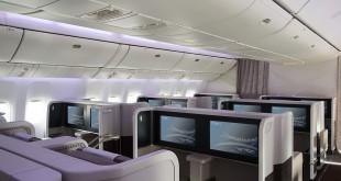 Interior del Boeing 777 en Business.