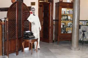 Tributo a Lorca en el Hotel Reina Cristina.