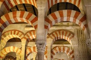 Interior de la Mezquita-Catedral Córdoba en Otoño