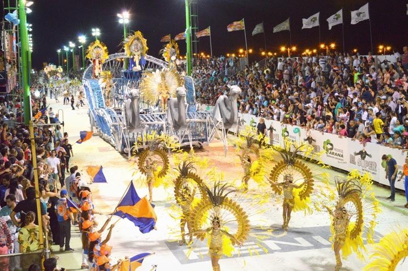 Carnaval de la ciudad de Corrientes.