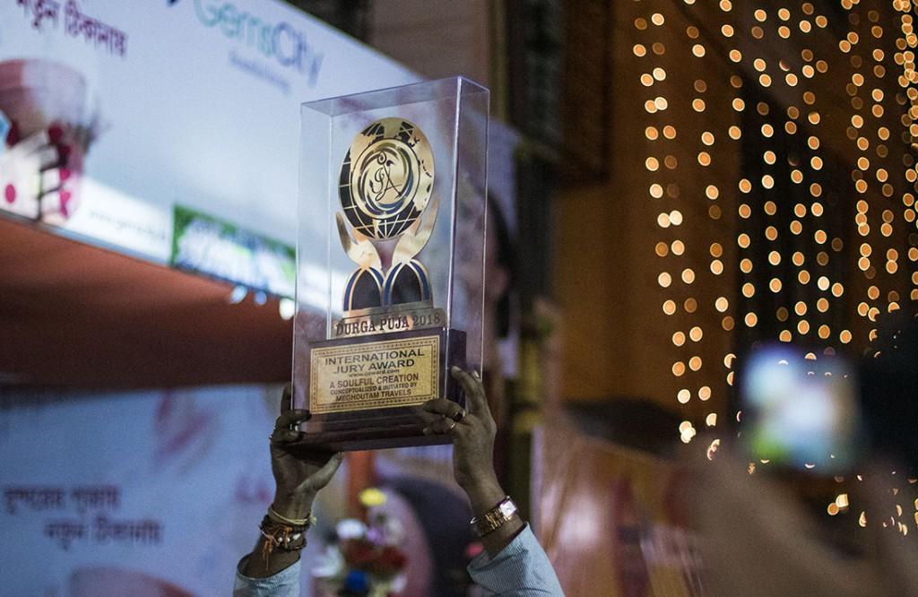 jurado internacional del festival Durga Puja de Calcuta