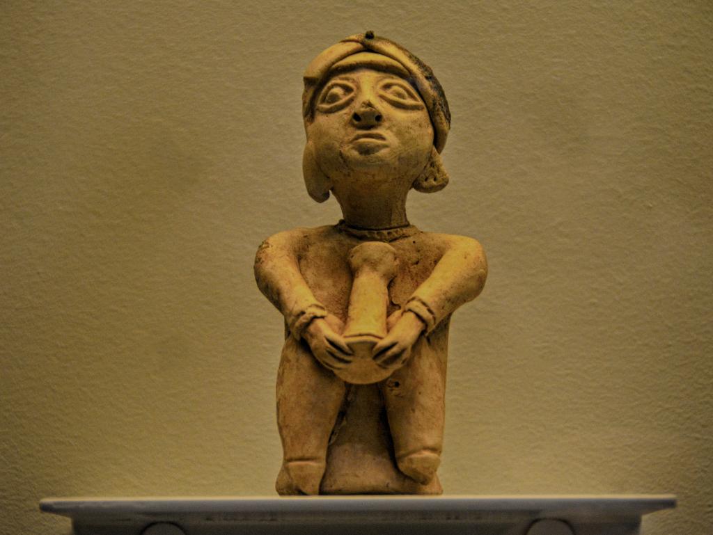 Músico, almohade, s. XII. Museo Arqueológico Córdoba en Otoño