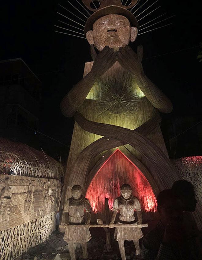 pandal de Naktala Udayan Sangha