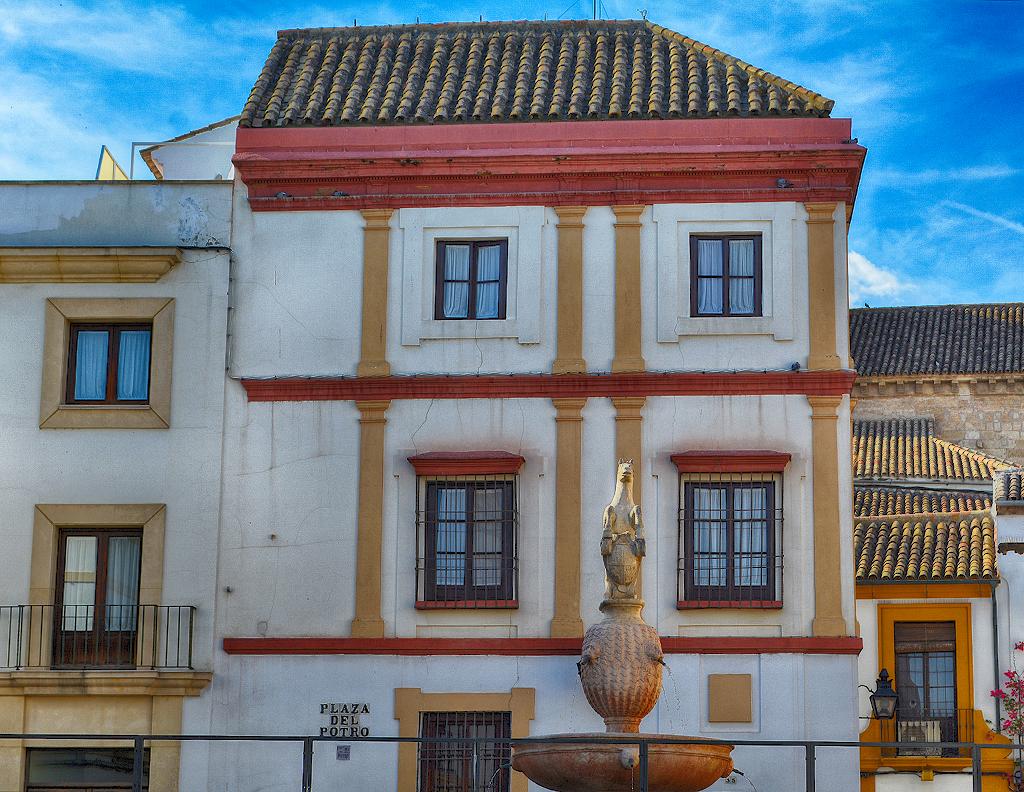 Plaza del Potro Córdoba en Otoño