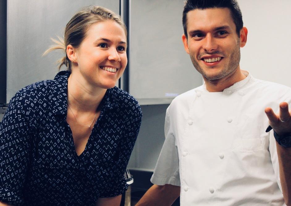 Emily Roux, de la saga del importante restaurante del restaurante Le Gavroche y Diego Ferrari, jefe de cocina de dicho restaurante, ahora abren juntos Caractère.