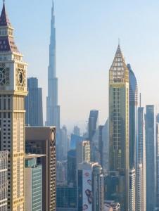 Gevora Hotel en Dubái: 75 pisos y 356 metros de altura.
