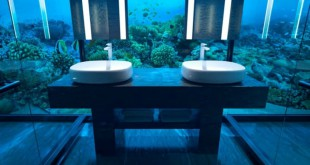 El Hotel Conrad Maldives Rangali Island está creando una suite que permite a los huéspedes dormir bajo el agua.