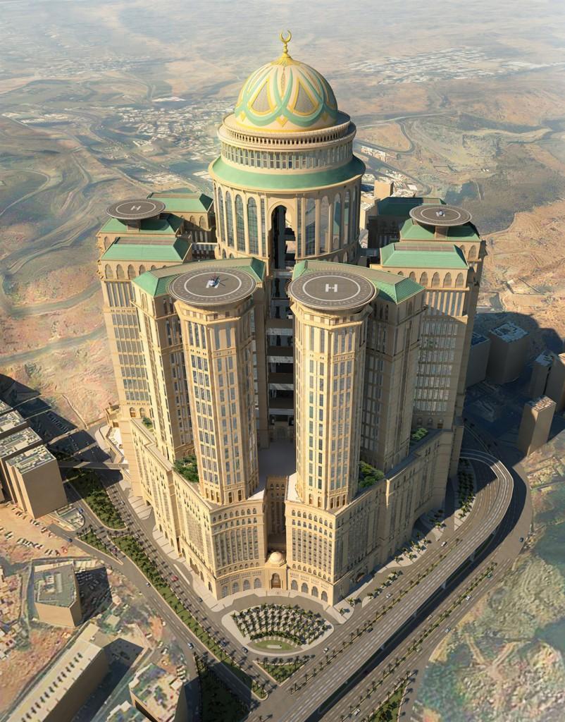 hotel Abraj Kudai el futuro hotel mas grande del mundo
