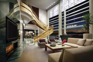 Uno de los lofts del MGM Grand Hotel de Las Vegas.