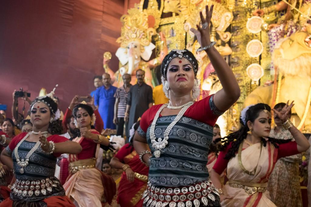 Espectáculo de danza tradicional celebrado con ocasión de la conclusión del festival.