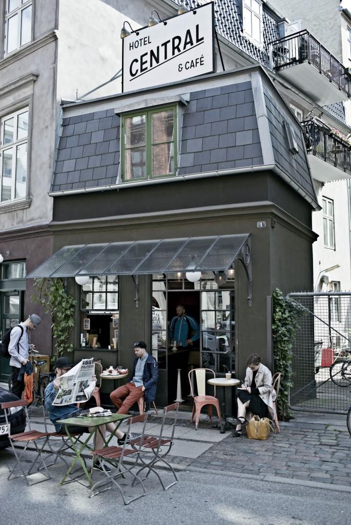 Hotel Central & Café el más pequeño del mundo