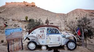 """En Jordania y habilitado para dos personas, Hotelscan.com lo considera el """"hotel"""" más pequeño del mundo."""