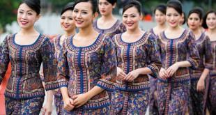 sarong kebaya de Singapore Airlines