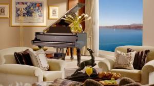 La Suite del Hotel President Wilson de Ginebra tiene hasta piano de cola Steinway.