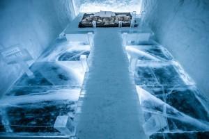En el Ice Hotel de Suecia las habitaciones frías tienen una temperatura de entre -5 y -8 ºC.