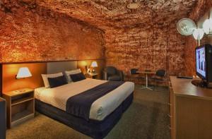 El Desert Cave Hotel de Australia es el único hotel que se encuentra completamente bajo tierra.