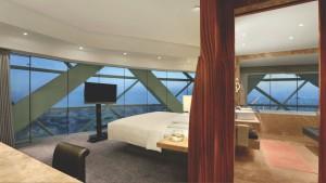 Sus habitaciones destacan por las increíbles vistas a la ciudad.