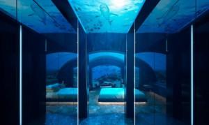 El Hotel Conrad Maldives Rangali Island en las Maldivas está creando una suite a 5 metros por debajo de la superficie del océano.