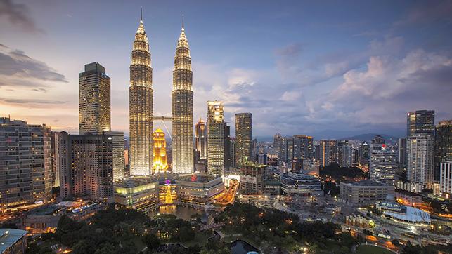 Torres Petronas de Kuala Lumpur.