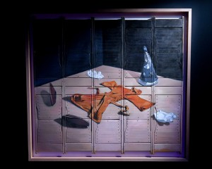 El cuadro de Oliver Clegg.