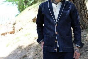 Las lineas de esta chaquetas están inspiradas en la ropa de trabajo de los agricultores japoneses, en concreto en las chaquetas de algodón noragi.