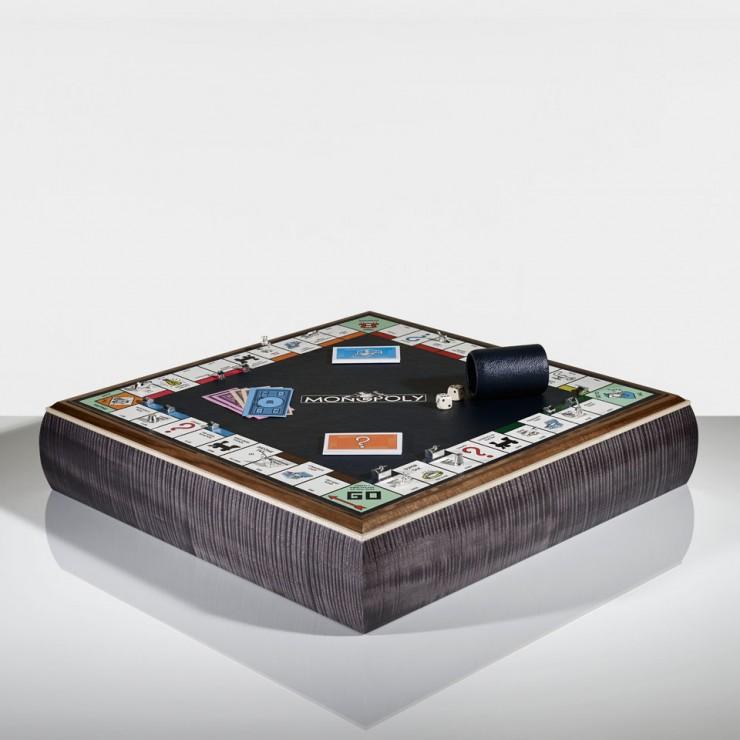 Este tablero de juegos de mesa se puede convertir en un objeto de decoración favorito.