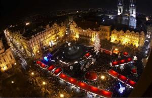 Plaza Vieja de Praga.