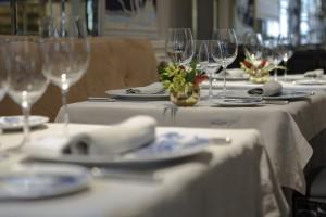 Restaurante Haroma, en el Hotel Heritage Madrid.