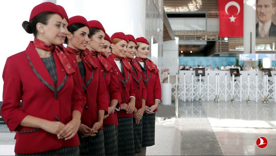 aeropuerto Estambul aircrew Turkish Airlines