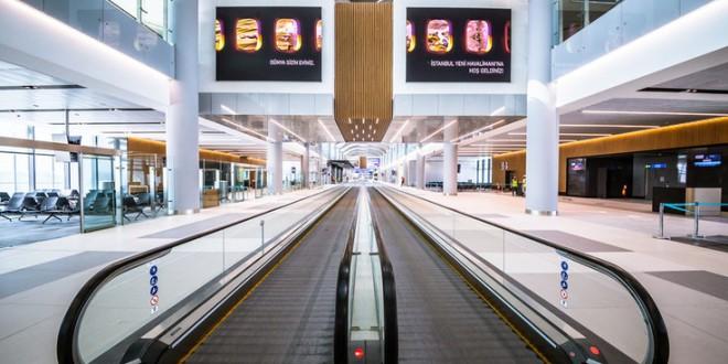 aeropuerto Estambul entre Occidente y Oriente