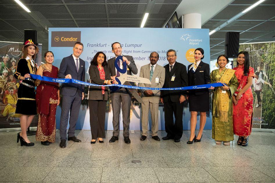 condor vuelo Kuala Lumpur y Frankfurt