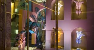 El restaurante Santceloni inaugura nueva exposición de arte en su sala.