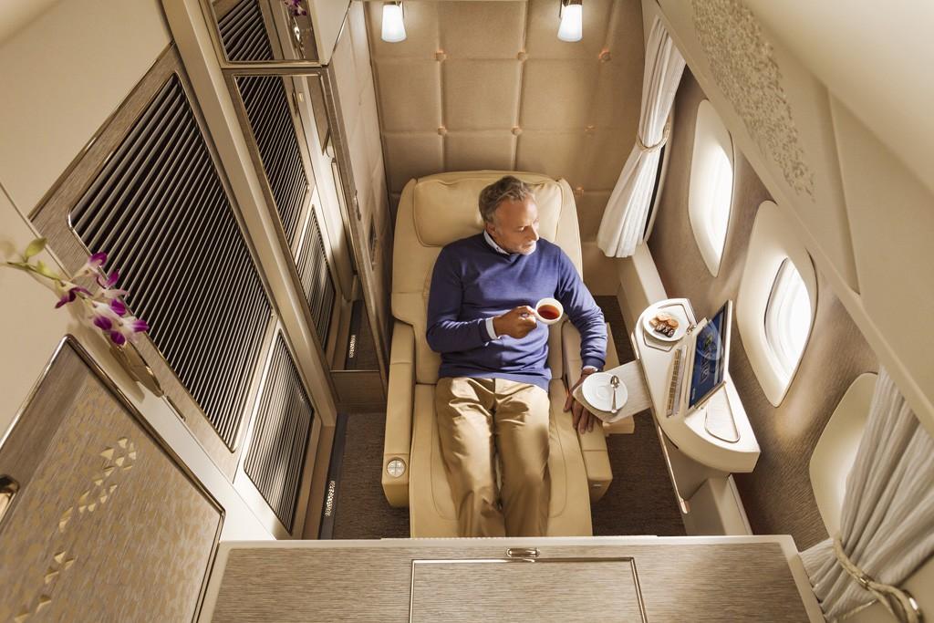 nueva Suite Emirates First Class