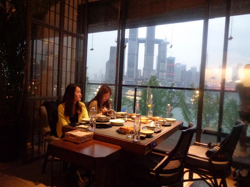 Chongqing probablemente ostente el record del mayor número de restaurantes por habitante.