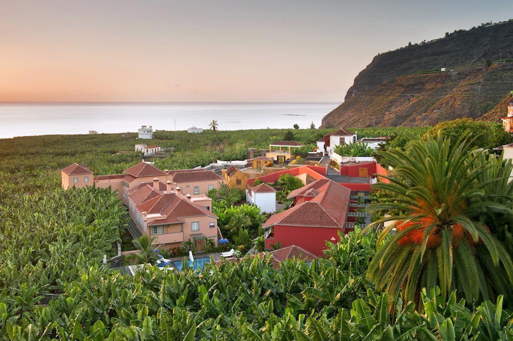 Está situado en Tazacorte, La Palma, donde se concentra la mayor producción de plátano de Canarias.