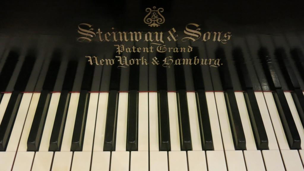El pianoforte de Giacomo Puccini.