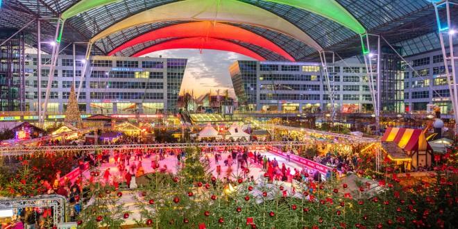 Mercado de Navidad del aeropuerto de Múnich