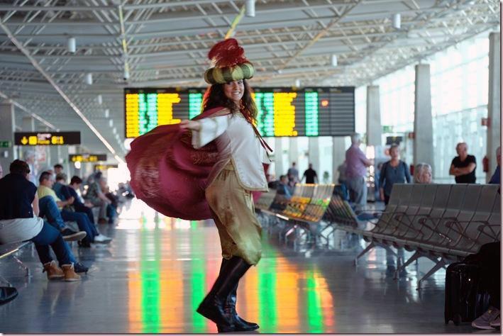Una paje de los Reyes Magos representa a España en la I Cumbre Europea de la Navidad.