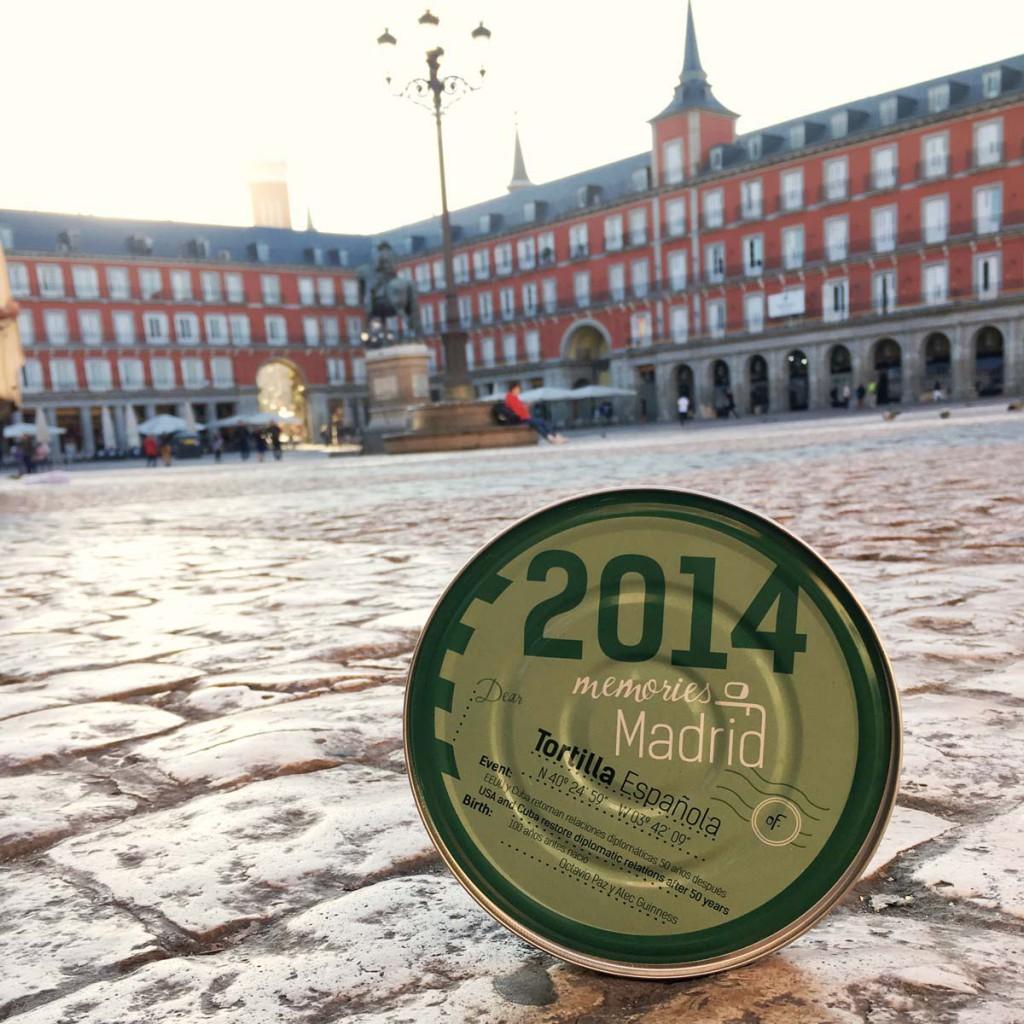"""""""Memories Of Madrid"""" nació con la idea de llevar el sabor de la tortilla a cualquier parte del mundo."""