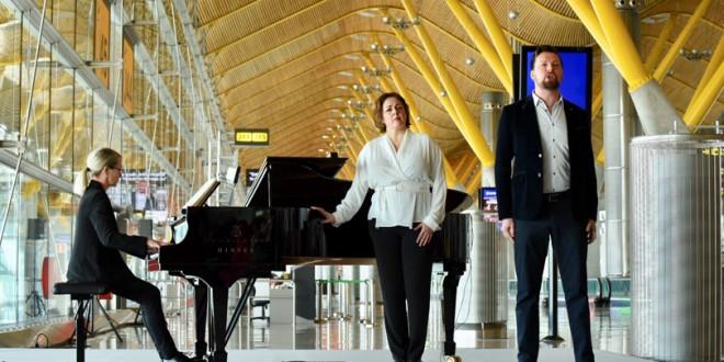 El tenor David Butt y la soprano Yolanda Patricia Auyanet del Teatro Real.