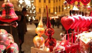 Adornos de navidad imprescindibles en cualquier mercadillo. Estos son de uno de Viena.