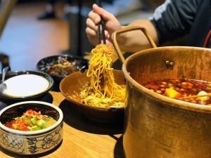 Cocina tradicional de la región.