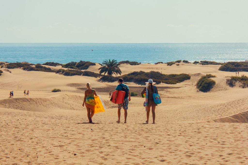 Gran Canaria es un maravilloso enclave en el Atlántico.