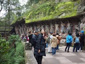 Parque de tallas en roca de Dazu.